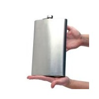 Gifts-Infinity Giant Jumbo Extremely Large Flask 64oz (Engravable) by Gifts Infinity