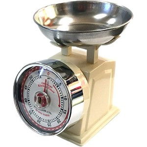 "Kitchen timer ""American scale look"" Ivory"