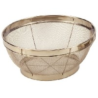 Cook Pro 10-Inch Stainless Steel Mesh Colander by ExcelSteel
