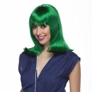 Characters Peggy Sue Synthetic Wig Green (並行輸入品)