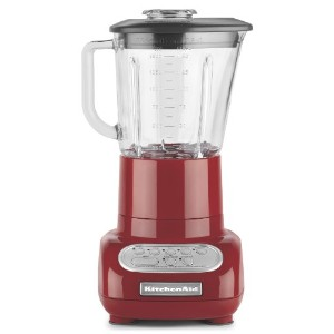 KitchenAid 5-Speed Blender with Glass Blender Jar, Empire Red by KitchenAid