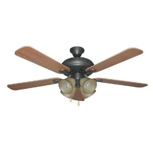 Litex E-PD52ABZ5C4 Piedmont Ceiling Fan by Ellington