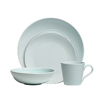Gordon Ramsay by Royal Doulton Maze Blue 4-Piece Set by Royal Doulton