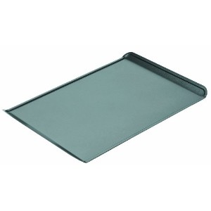 Chicago Metallic Non-Stick Small Cookie Sheet, (12 X 8.75 Baking Surface) , 13-1/2 by 9.3-Inch by...