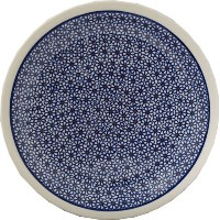 Polish Pottery Dinner Plate 11 by Polish Pottery Market