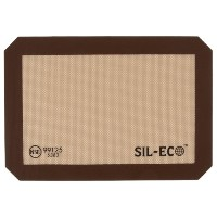 Sil-Eco E-99125 Non-Stick Silicone Baking Liner, Quarter Sheet Size, 8-1/4 x 11-3/4 by Sil-Eco