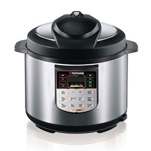 Tatung TPC-5L 5L Pressure Cooker with Inner Pot - Stainless Steel by Tatung