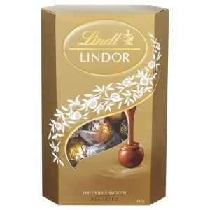 リンツ(Lindt) Lindor Chocolates Assorted Cornet Balls 337g [海外直送] [並行輸入品]