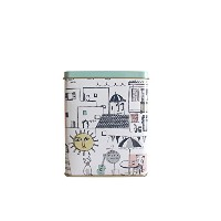 CittA DESIGN(チッタ・デザイン)TEA TIN/SANTORINI TEA TIN