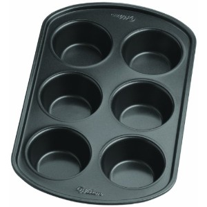 Wilton 2105-6788 Perfect Results Nonstick 6-Cup Muffin Pan by Wilton