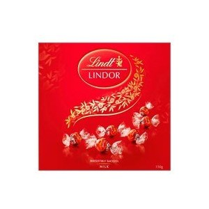 リンツ(Lindt) Chocolates Lindor Milk Choc Gift Box 150g [海外直送] [並行輸入品]