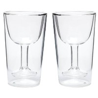 Oenophilia Wine Glass Double Wall, Set of 2 ワイングラス 2個セット 並行輸入品