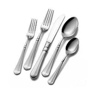 Mikasa French Countryside 45 Pc Flatware Set With Caddy by Mikasa