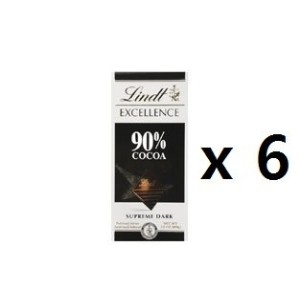 リンツ(Lindt) Chocolate Block Excellence Intense Orange 100g 6EA [海外直送] [並行輸入品]