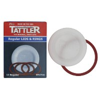 Tattler Canning Lids 4 Oz Regular Mouth Boxed by Tattler