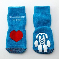 Power Paws Advanced Reinforced Toe (パワー パウズ) M, ハート 4個セット [並行輸入品]