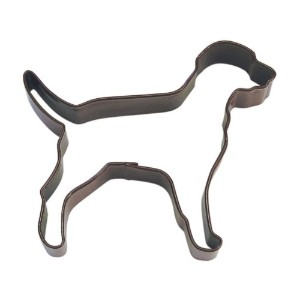 R&M Lab/Dalmation 4 Cookie Cutter Brown With Colored, Durable, Baked-on Polyresin Finish by...