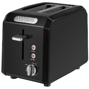 Waring CTT200BK Professional Cool Touch 2-Slice Toaster, Black by Waring