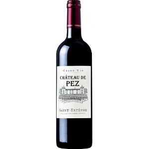 2013 Chateau de Pez, St Estephe, Cru Bourgeois (case of 12) HALVES