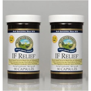 Naturessunshine IF Relief Supports Joint Health Herbal Food Supplement 90 Capsules (Pack of 2) by...