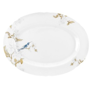 スポードBone China Nectar Oval Platter