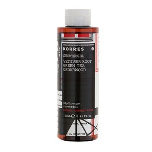 Korres Vetiver Root, Green Tea and Cedarwood Showergel 250ml by Korres [並行輸入品]