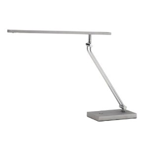 Adesso 3392-22 Saber LED Desk Lamp, Steel by Adesso