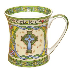 Irish high cross bone china mug - an Irish gift designed in Galway Ireland. by Royal Tara