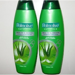 Lot of 2 Palmolive Naturals Shampoo & Conditioner 2in1 Healthy & Smooth for Normal Hair 180mL/pk ...