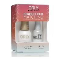 Orly Nail Lacquer + Gel FX - Perfect Pair Matching DUO - White Tips