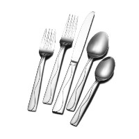 Towle Living 20-piece Everyday Minaj Frost Flatware Set