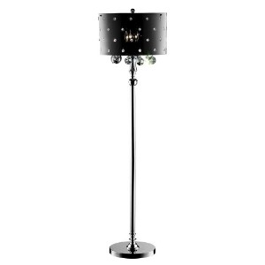 Ore International K-5120F 50-Inch Star Crystal Floor Lamp by ORE