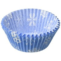 Oasis Supply Baking Cups, Standard, 50-Count, Snowflake by Oasis Supply