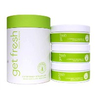 Get Fresh Lemongrass Bath And Body Renewal Kit (並行輸入品) [並行輸入品]