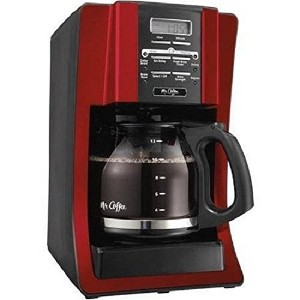 Mr. Coffee 12 Cup Programmable Modern Design with Chrome Front Coffeemaker by Mr. Coffee