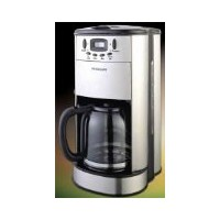 Frigidaire FD7188 12-Cup Stainless Steel Programmable Coffee Maker with Coffee Grinder, 220 to 240...
