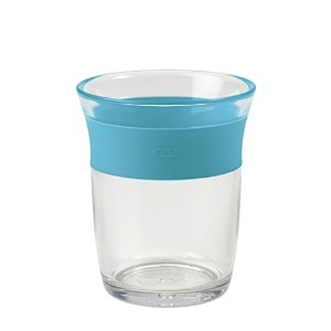 OXO Tot Cup for Big Kids with Non Slip Grip - Aqua by OXO [並行輸入品]