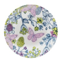Iittala Runo by Arabia Butterfly Saucer by Iittala