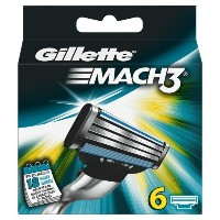 Pack of 6 Gillette razor blades Mach 3 by Procter & Gamble Service GmbH [並行輸入品]