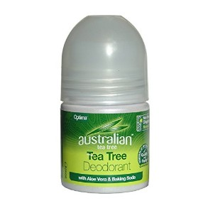 Optima Australian Tea Tree Deodorant with Aloe Vera 50ml by Optima