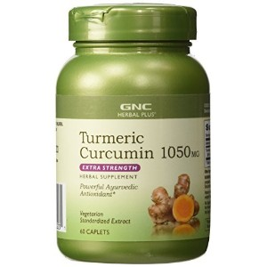 GNC Tumeric Curcumin 1050mg by GNC Herbal Plus