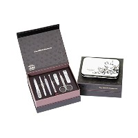 METAL BELL Manicure Sets BN-8177A ポータブル爪の管理セット爪切りセット 高品質のネイルケアセット高級感のある東洋画のデザイン Portable Nail...