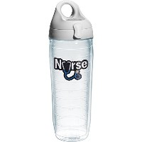 Tervis Nurse Stethoscope Water Bottle with Lid, 24 oz, Clear by Tervis