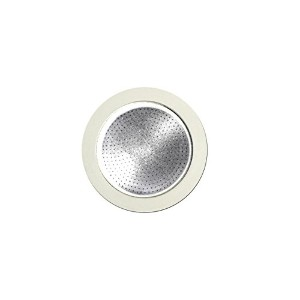Bialetti: replacement for Moka Express 4-cups (3 gasket + 1 filter) [ Italian Import ]