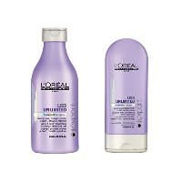 Loreal Professional Serie Expert Liss Unlimited Shampoo 250ml and Conditioner 150ml [並行輸入品]