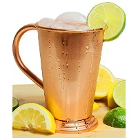 AsiaCraft 100 % Pure Copper Julep Shape Moscow Mule Mug - 18 Oz