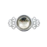 Harold Import - English Tea Strainer Chrome by Harold's Coffee and Tea