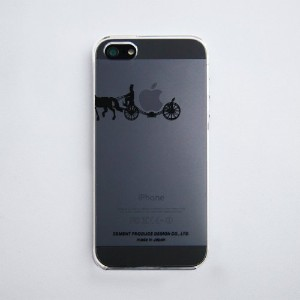iTattoo5(iPhone Case)Carriage of apple / Black