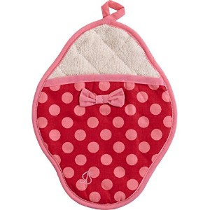 Jessie Steele / ジェシースティール ポットミット(Red/Pink Polka Dot Scalloped)601js-68