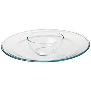 Libbey Selene 2 Piece Chip and Dip Set by Libbey